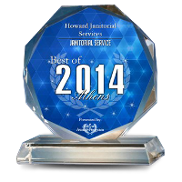 Best of 2014 Janitorial Service Award Badge in Athens, GA